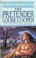 Novel-The-Pretender-by-Louise-Cooper (Count_Strad) Tags: novel book pages read reading pulp scifi horror fantasy