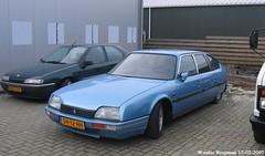 Citroën CX 25 GTI 1987 (XBXG) Tags: sh12hh citroën cx 25 gti 1987 bleu olympe emdcr bo blue citroëncx leek groningen nederland holland netherlands paysbas vintage old french classic car auto automobile voiture ancienne française france frankrijk vehicle outdoor