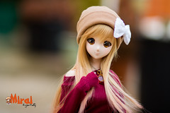 Mirai - Smart Doll Mirai Suenaga 001 (RozenPullip) Tags: smart doll mirai danny choo custo dollfie dream anime wig leekeworld blond animetic eyes lizanna yellow dress outfit