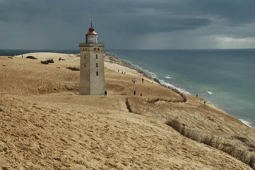 Abandoned lighthouse - Rubjerg Knude - 2008