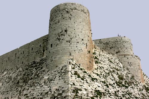 KRAK DE CHEVALIERS (Crac de los Caballeros). HOMS (Syria). 2008. Castillo. Torreón.