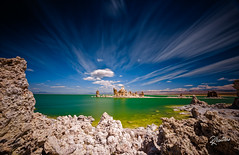 Mono Lake (Riccardo Maria Mantero) Tags: clouds lake mantero monolake riccardomantero riccardomariamantero blue green landscape longexposure mono outdoors park sky travel usa water
