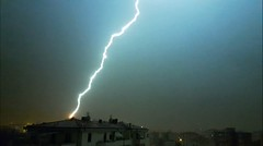 Zot! (Dochac - Meteorologist) Tags: lightning bolt lightningbolt thunderstorm storm severeweather weather thunder electric electricity atmosphere nature wildnature sky temporale fulmine tuono saetta