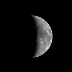 Nearly Half Moon (mikeyp2000) Tags: astrophotograph stack astrophotography moon