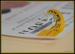 Macro Mondays - Label Peeling (zendt66) Tags: zendt66 zendt nikon d7200 nikkor 60mm macromondays itsapeelingtome macro peel peeling book label