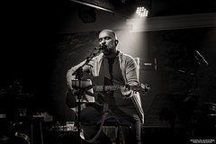 Lonely - Babis Stokas (Aggelos Kastoris) Tags: lonely man silhouette one light back black white music guitar feelings stage musician concept performer people monochrome concert