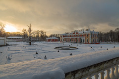 Kadriorg Palace Garden in the Winter Evening (AudioClassic) Tags: kadriorgpalace kadriorgpark evening estonia winter park tallinn trees kadriorg nature snow forest hiking road peaceful perspective hike landscape outdoors lantern seasons walkway cold coveredwithsnow january benches foliage snowscene nobody europe palace outdoor tourism ancient vacation travel