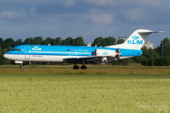KLM Cityhopper Fokker 70  |  PH-WXD  |  Amsterdam Schiphol - EHAM (Melvin Debono) Tags: klm cityhopper fokker 70 | phwxd amsterdam schiphol eham melvin debono spotting canon 7d 600d plane planes polderbaan airport airplane aviation aircraft netherlands holland