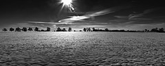 Night or Day ??? (jo.misere) Tags: pano snow sneeuw bw zw belgium nik