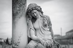 Woman and Grief (x1klima) Tags: laciotat provencealpescôtedazur frankreich fr tod sterben death braless emptiness einsamkeit pain schmerz leid qual mühe aching ache grief trauer kummer gram hurt chastity distress not bedrängnis verzweiflung leiden soreness mourning trauern trauerzeit sorrow sorge betrübnis traurigkeit misery elend misere jammer affliction harm agony misfortune sadness sculpture burialplace cemetery grabstätte friedhof grave grab teens teenager teen girl girls mädchen schönheit model models erotic skinny voluptuous nonnude sonya7r ilce7r zeiss sonnarfe55mmf18za sonnartfe1855