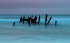 Submerged (John Pettigrew) Tags: tamron d750 2470mm art east long abstract sea imanoot water exposure defences anglia fineart seascape happisburgh sky norfolk nikon