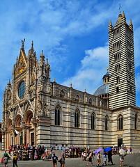 Duomo di Siena, Toscana (gerard eder) Tags: world travel reise viajes europa europe italy italien italia toscana tuscany landscape landschaft siena duomo cathedral kathedrale catedral church kirche iglesia