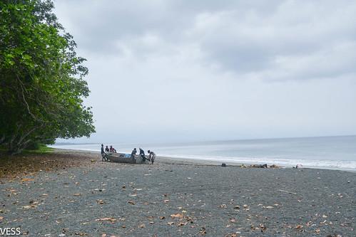 bring the boat ashore at Big Bay