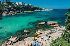 Gordon's Bay | Not Today (blentley) Tags: canon eos 5dmkiii ef 1635mm f4l is usm landscape wideangle blue ocean swimming sea rocks sunbaking summer sydney australia cpl nisi filters sharp diver diving gordons bay coogee clovelly
