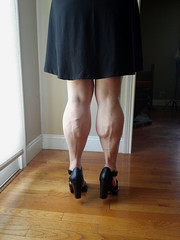 20150604_12jjj (ARDENT PHOTOGRAPHER) Tags: woman female highheels muscular veins calves flexing veiny muscularwoman