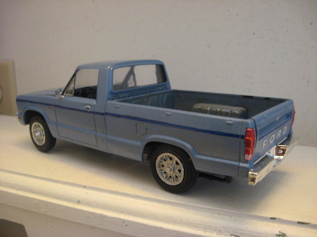 ford scale truck model pickup mazda courier amtfordcourier
