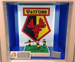 Watford FC logo (Bricks for Brains) Tags: logo lego fc watford