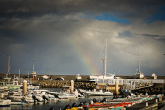 Arc en ciel / Rainbow (Bruno Hoarau) Tags: en saint port canon rainbow pierre arc ile ciel runion