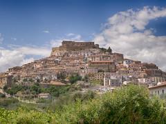 Rocca Imperiale 2015 (NIKOZAR (Nicola Zaratta)) Tags: sky panorama clouds landscape nuvole cielo castello calabria cosenza roccaimperiale olympusxz1