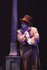 Matthew Gumley in Oliver! at Music Circus July 19-24. Photo by Charr Crail.