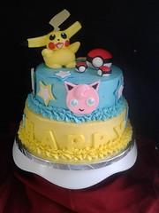 Pokemon cake by Lourdes, Camden County, NJ, www.birthdaycakes4free.com