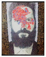 Skin (ANTONIOM.) Tags: art collage tattoo magazine paper design donna colours moda mosaico uomo deco rosso azzurro illustation tessere uploaded:by=flickrmobile flickriosapp:filter=nofilter