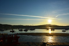 Photo of Conwy harbour early