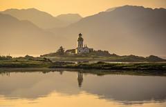 In the cool morning light. (AlbOst) Tags: morning sunrise morninglight lighthouses isleofskye pastel morningsun isleornsay ornsay laquintaessenza scottishcoastlines