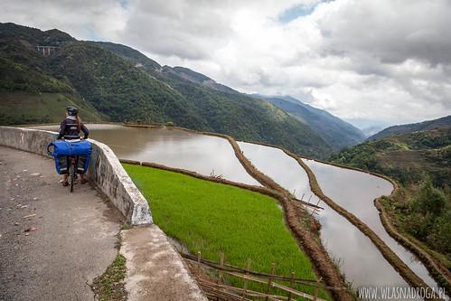 Pola ryżowe w Junnanie