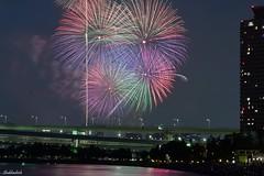 Tokyo Bay Fireworks.. (Shubhashish Chakrabarty) Tags: japan tokyo fireworks 日本 東京 odaiba 夏 hanabi tokyobay お台場 花火