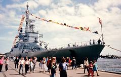 Colbert C611 1988 Bi-Centenial  Port Adelalide (2) (shane.inwood) Tags: france port french navy adelaide cruiser colbert c611