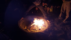 Fire Walk With Me.   klemoff's last nite in SF (K a P p Y) Tags: sanfrancisco california beach danger fire campfire barefoot oceanbeach goodbye kappy laterdudes kappyscorner