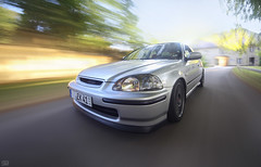 ... (Benny / 2B-OptiK) Tags: cars car honda ride fast turbo rig civic tuning jdm stance rigshot