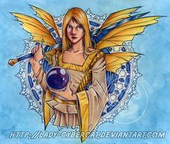 GoldFaecolorweb (Saturnyne) Tags: art tinkerbell pixie elf fairy fantasy faery fae elven