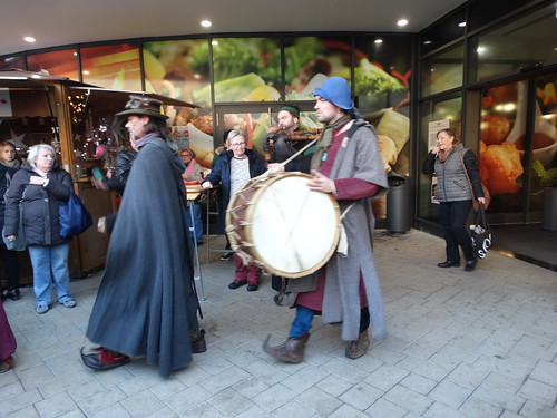 Bingen - Medieval Procession at Xmas Market