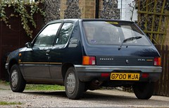 G700 WJA (2) (Nivek.Old.Gold) Tags: 1990 peugeot 205 style 3door 1124cc wyvern