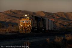 2007-02-24 UP 4922 East near Beaumont (Travis Berryman) Tags: unionpacific beaumonthill uprr upyumasub desertrailroading