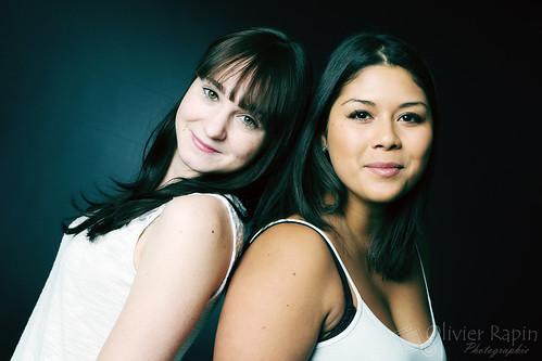Kristel and Marina