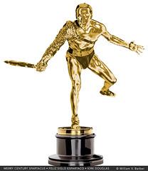 154-FelizSigloEspartaco-KirkDouglas (William V. Barber) Tags: 100cumpleaños cine espartaco gladiador heroe homenaje kirkdouglas objeto oscar spartacus stanleykubrick