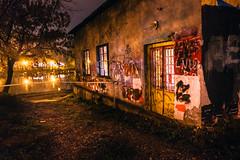 Moody night (Master Iksi) Tags: night lights river house graffiti belgrade beograd srbija serbia canon700d