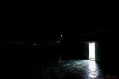 Light door (Heonni) Tags: building gate light nightscape photography seoultech univ 문 불빛 사진 서울과학기술대학교 야경