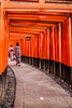Chasing the Past (Ingo Tews) Tags: japanese temple tempel kyoto japanisch traditionell traditional japanesearchitecture shinto geisha geishas women woman frau frauen gate torii fushimiinaritaisha fushimiinari ilovejapan inari walk red gates tor tore rot tunnel history religion