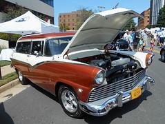 1955 Ford Wagon (splattergraphics) Tags: 1955 ford wagon stationwagon carshow fairfaxlabordaycarshow fairfaxva
