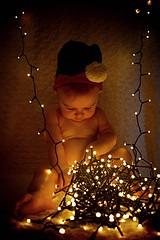 My Christmas Elf (CMF1983) Tags: d3300 nikon enfant infant festive lights xmas christmas elf son baby child