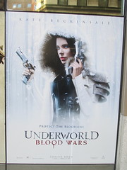 Underwood Blood Wars 1244 (Brechtbug) Tags: underworld blood wars 2017 february movie poster standee film kate beckinsale 02042017 vampire hunter hunters vampires werewolf werewolves monster monsters gun guns side walk billboard billboards sidewalk annnnd shes back eurotrash heroes euro trash villains hero villain tough guy lady woman fashion future futurish alternate reality ish forever night vamp 14th street