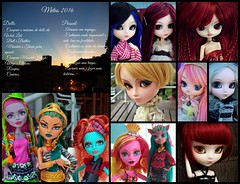 Tag - Balanço Geral 2016 (♪Bell♫) Tags: monster high néfera de nile mattel fashion doll petit taeyang romantic mad hattler roy darden groove circ du freak gooliope isi dawndancer marisol coxi lorna mcnessie pullip lunatic queen irina duvessa dal chibi risa rock ellie armstrong wig victorine valentine flour loa alice monochrome helena rosemberg naomi bloody red hood momoko yoko moon rosenthal new wigs