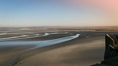mont saint michel (Photographie Vally) Tags: montsaintmichel france landscape sun sunrise sea water sunlight sable mont normandie bretagne nature beautiful great shoot wordshoot