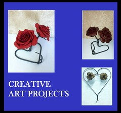 creative-art-projects-roses-po (PowderWorks) Tags: wallplaques plaques centerpieces mailboxes lawnart