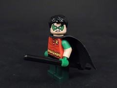Tim Drake (DC Rebirth) (MrKjito) Tags: lego minifigs super hero dc comics comic robin tim drake rebirth detective batman custom