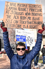 Philly Health Care is a Right Rally (joepiette2) Tags: healthcare obamacare protests trump